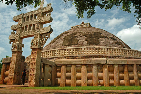 Oldest Stone Structure In India - The Great Stupa At Sanchi Pizza8