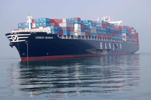 APS WORLDWIDE SHIPPING SERVICE Cosco-busan