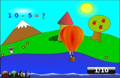 GComprisبرنامج تعليمي رائع  لطلاب المرحلة الابتدائية Algebra_minus