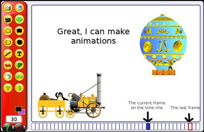 GComprisبرنامج تعليمي رائع  لطلاب المرحلة الابتدائية Anim