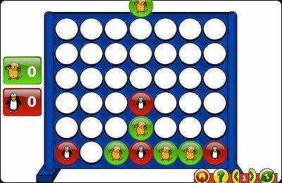 GComprisبرنامج تعليمي رائع  لطلاب المرحلة الابتدائية Connect4-2players