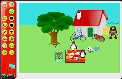 GComprisبرنامج تعليمي رائع  لطلاب المرحلة الابتدائية Draw