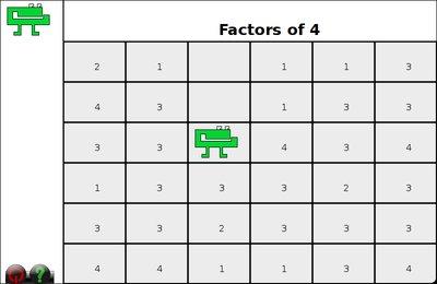 GComprisبرنامج تعليمي رائع  لطلاب المرحلة الابتدائية Gnumch-factors