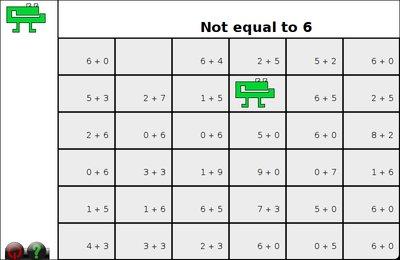 GComprisبرنامج تعليمي رائع  لطلاب المرحلة الابتدائية Gnumch-inequality