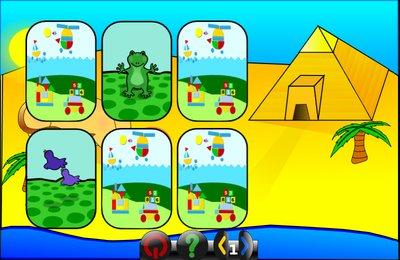 GComprisبرنامج تعليمي رائع  لطلاب المرحلة الابتدائية Memory