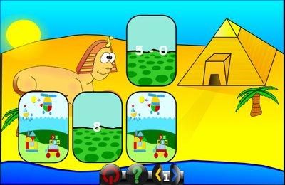 GComprisبرنامج تعليمي رائع  لطلاب المرحلة الابتدائية Memory_add_minus_mult_div