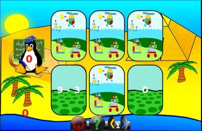 GComprisبرنامج تعليمي رائع  لطلاب المرحلة الابتدائية Memory_add_minus_tux