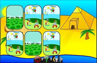 GComprisبرنامج تعليمي رائع  لطلاب المرحلة الابتدائية Memory_mult_div