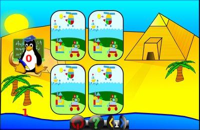 GComprisبرنامج تعليمي رائع  لطلاب المرحلة الابتدائية Memory_mult_tux