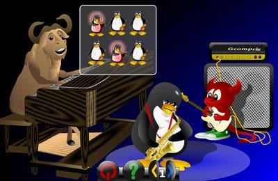 GComprisبرنامج تعليمي رائع  لطلاب المرحلة الابتدائية Memory_sound