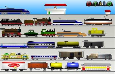 GComprisبرنامج تعليمي رائع  لطلاب المرحلة الابتدائية Railroad