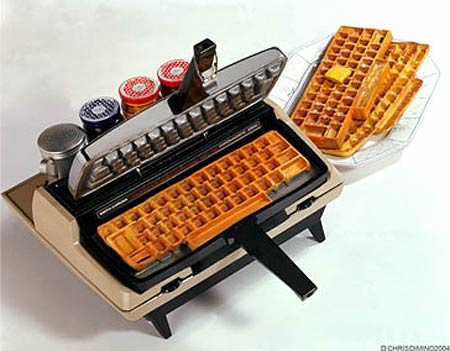 NEW 22IN MONITOR!!!! Keyboard-waffles