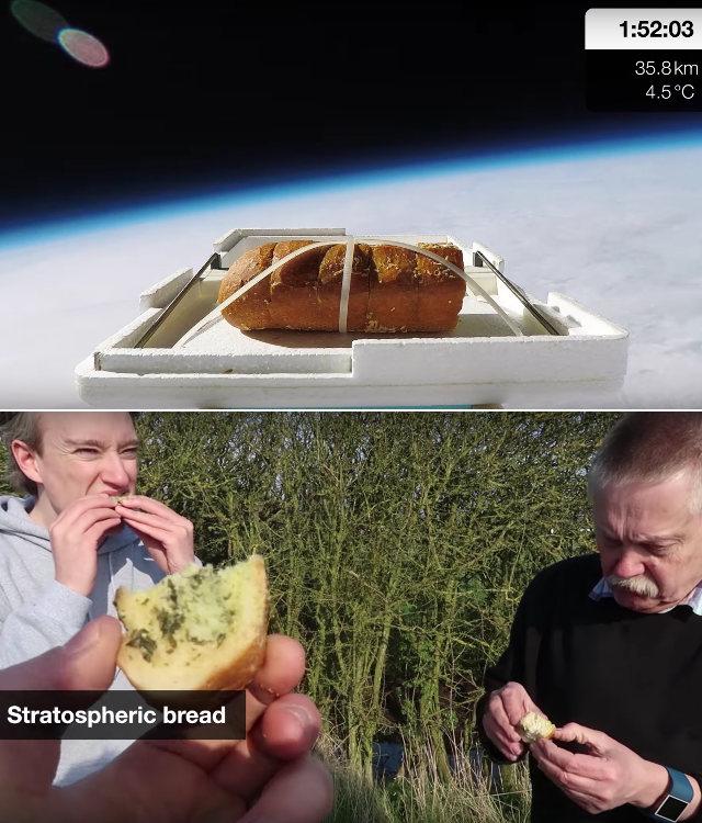 bizarre....  - Page 37 Garlic-space-bread