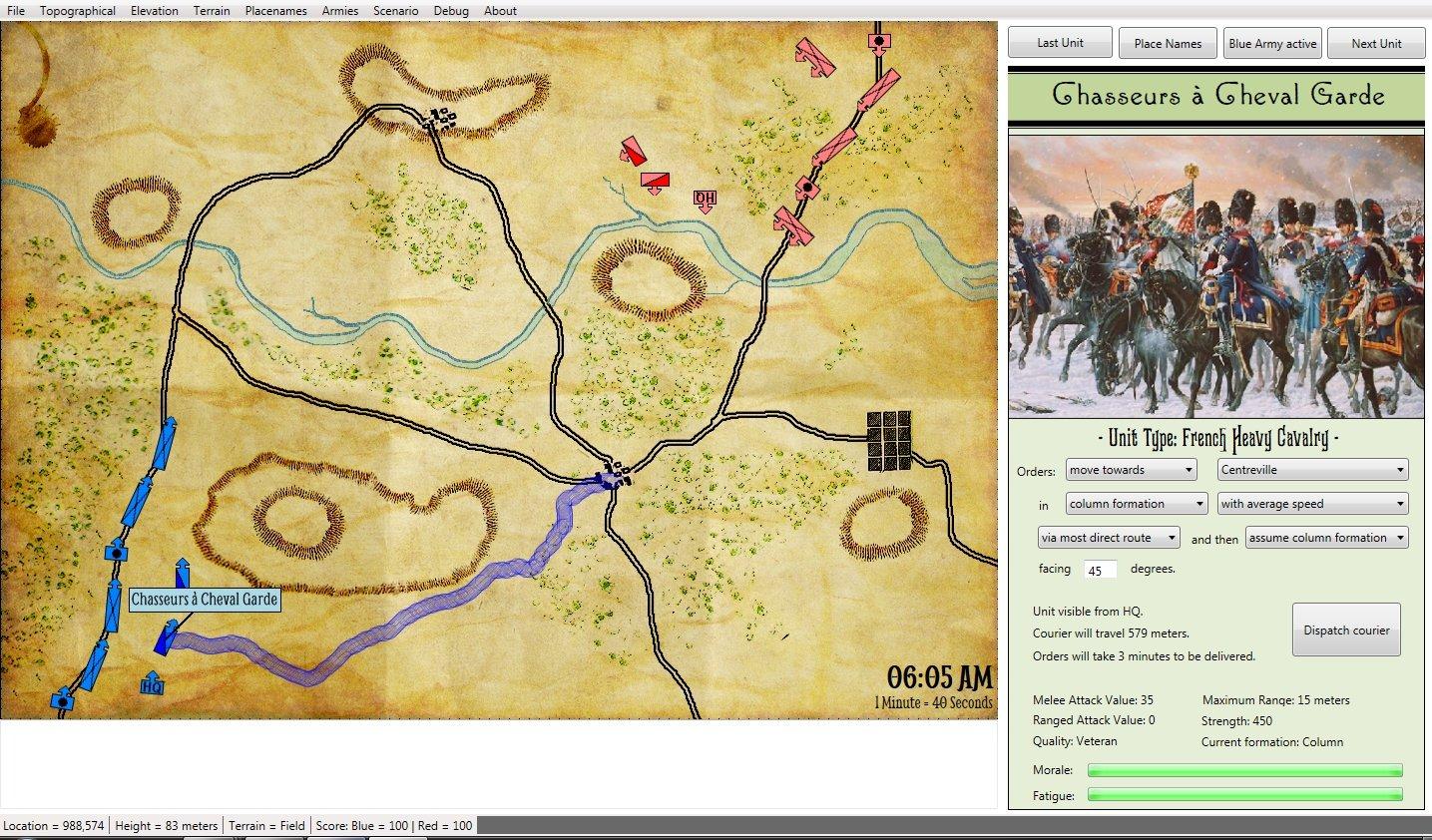 New algorithm creates accurate troop movement LWPsSlopeAvoidance