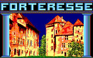 LA GUERRE AMSTRAD CPC/COMMODORE C64 Forteresse_1