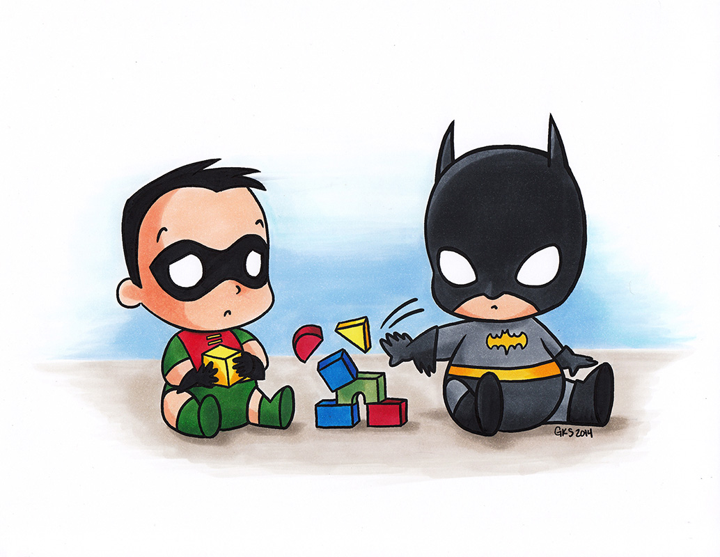 Feliz día del niño! Baby-batman-is-a-jerk