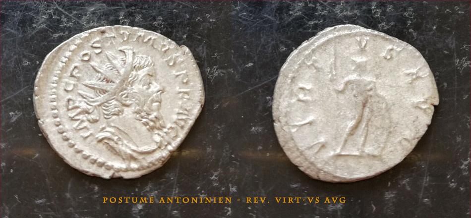 Votre avis 2 Antoniniens de Postume POSTUME-1