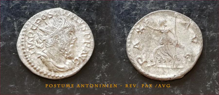 Votre avis 2 Antoniniens de Postume POSTUME-2
