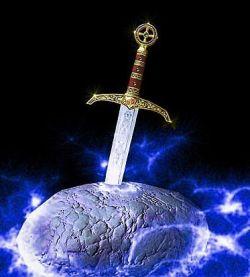Masoneria Egipcia del Antiguo y Primitivo Rito de Memphis-Misraïm Excalibur-sword-in-stone