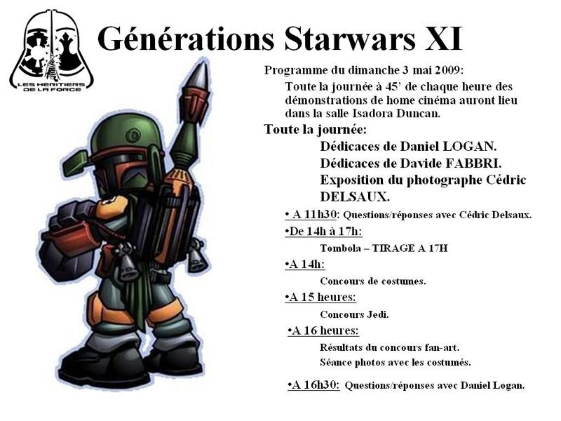 Génération Star-Wars 2009 - Page 2 Programme-dimanche1