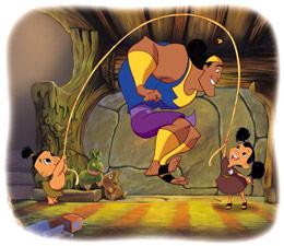 Kuzco, l'Empereur Mégalo [Walt Disney -2001] Kronk