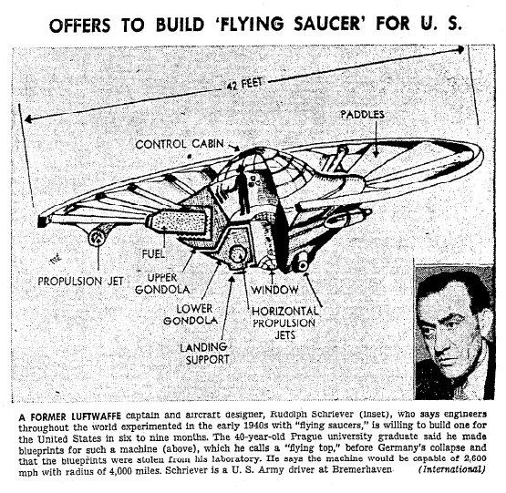 """Язон Масон - Модель """"Haunebu"""" фирмы """"Revell"""" стала бестселлером благодаря негативному освещению со стороны СМИ! Существовали ли эти немецкие летательные дисковые аппараты на самом деле? Saucer"""
