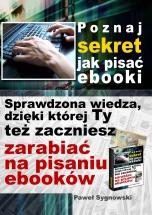 Poznaj sekret jak pisać ebooki 152x200