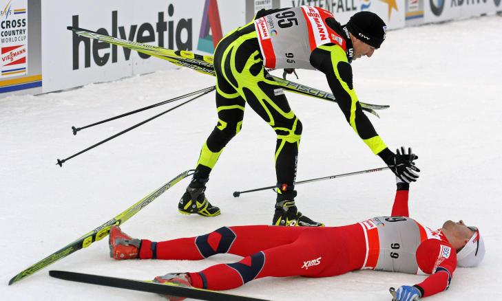 Петтер Нортуг / Petter Northug, Tour de Ski-2012 - Страница 3 729x