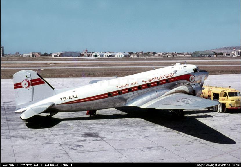 AIR FRANCE Classique, AFRIQUE et MONDE - du DC-3 au B747 Tar_dc-3_r
