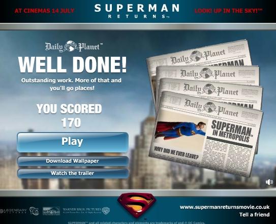 Reporter spécialité superhéros! Superman
