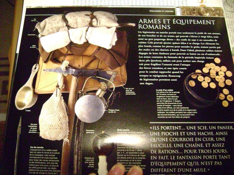 Légionnaire romain tenue d'hiver Dsc06072