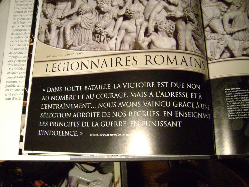 Légionnaire romain tenue d'hiver Dsc06073