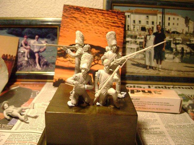 la vielle garde à waterloo Grenadiers