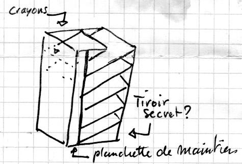 bureau - [Fabrication] Un bureau contemporain et simple…  BureauRenaud
