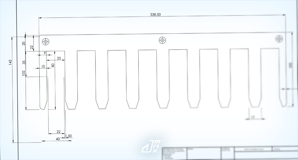 [Réalisation] Ratelier pour serre-joints ClampsRack02