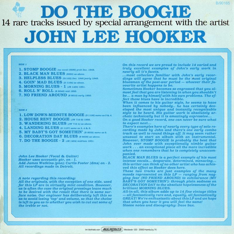 John Lee Hooker - Page 2 JohnLeeHooker-DoTheBoogieBack_zps8f1cfacd