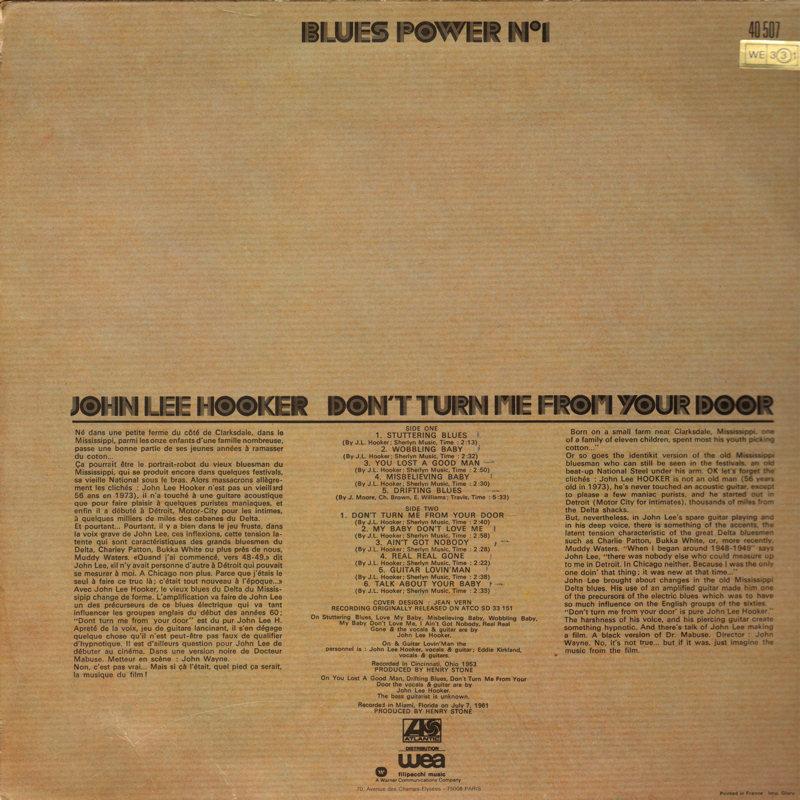 John Lee Hooker - Page 2 JohnLeeHooker-DontTurnMeFromYourDoorbluespowerBack_zps10ffe415