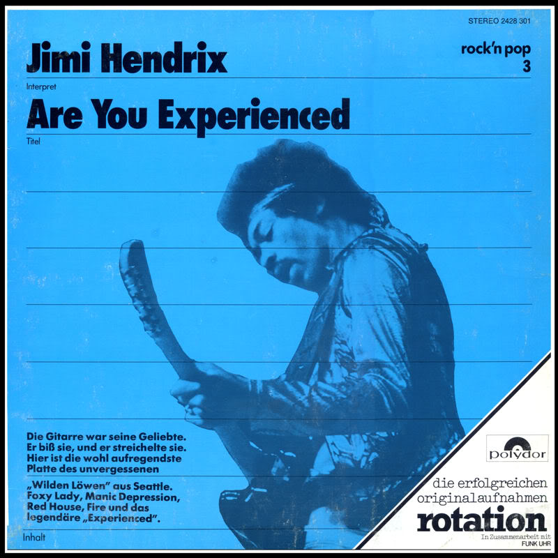 Discographie : Rééditions & Compilations AreYouExperienced-Polydor2428301RotationFront