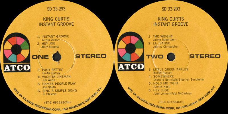 Discographie : Enregistrements pré-Experience & Ed Chalpin  - Page 7 Atco%20SD%2033.293%20-%20King%20Curtis%20-%20Instant%20Groove%20Label_zpsb4fpbbdl