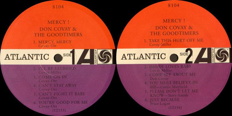 Discographie : Enregistrements pré-Experience & Ed Chalpin  - Page 7 Atlantic8104-DonCovayampTheGoodtimers-MercyLabel_zpsb0092598