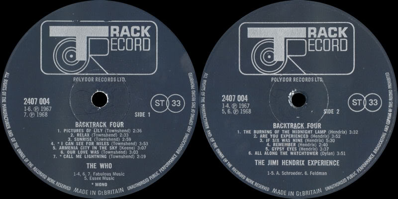 Discographie : Rééditions & Compilations - Page 5 Backtrack4Label