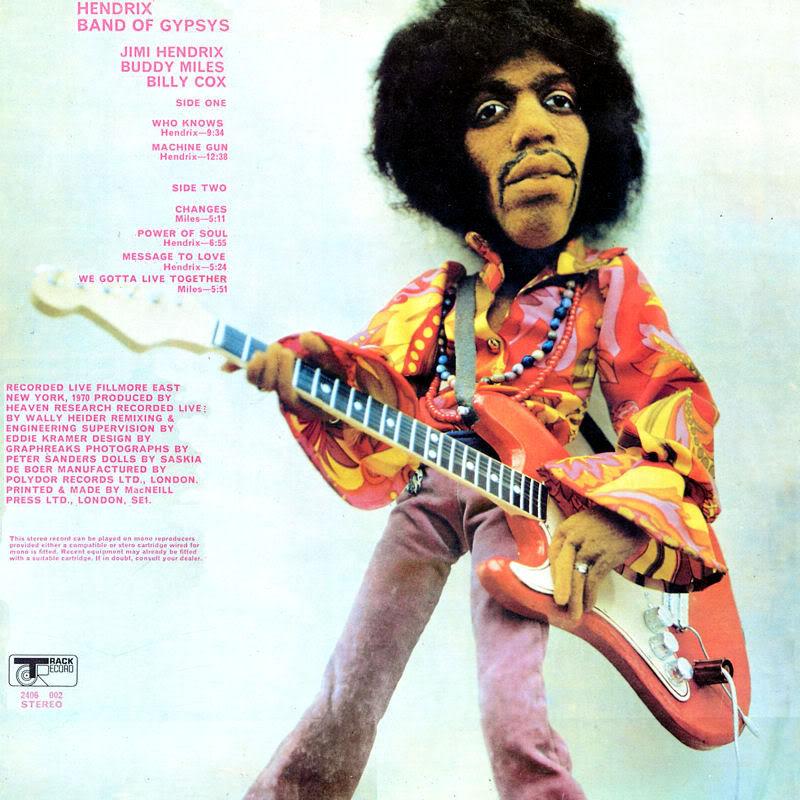 Band Of Gypsys (1970) BandOfGypsyspoupeBack2
