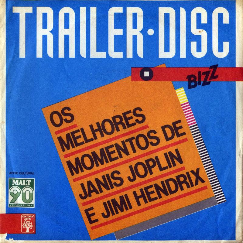 Discographie : 45 Tours : SP,  EP,  Maxi 45 tours BizzTrailerDiscFront