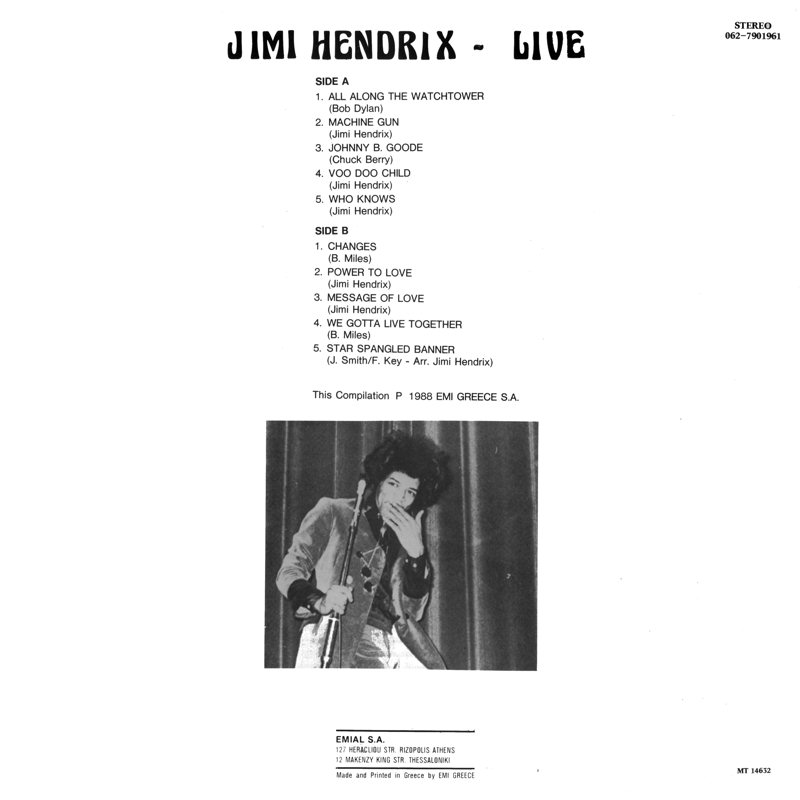 Discographie : Rééditions & Compilations - Page 7 Capitol062-7901961-LiveBestOfBack