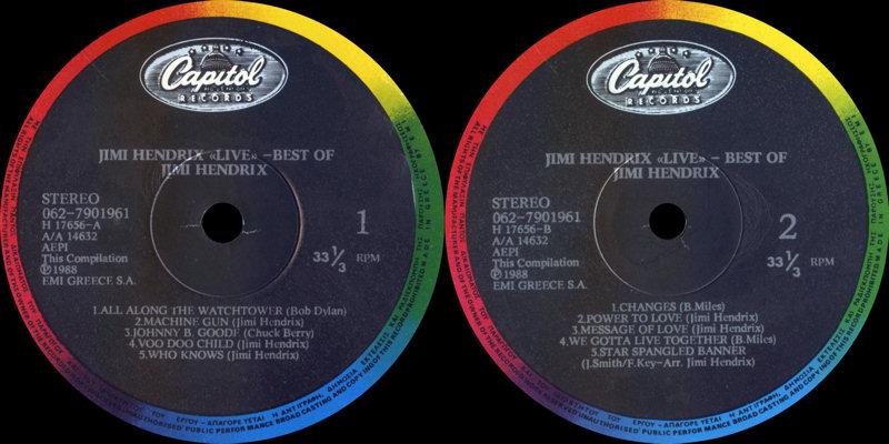 Discographie : Rééditions & Compilations - Page 7 Capitol062-7901961-LiveBestOfLabel