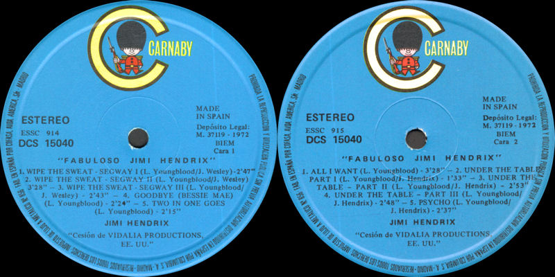 Discographie : Enregistrements pré-Experience & Ed Chalpin  - Page 8 Carnaby-DCS15040-41-%20FabulosoJimiHendrix1972Label1