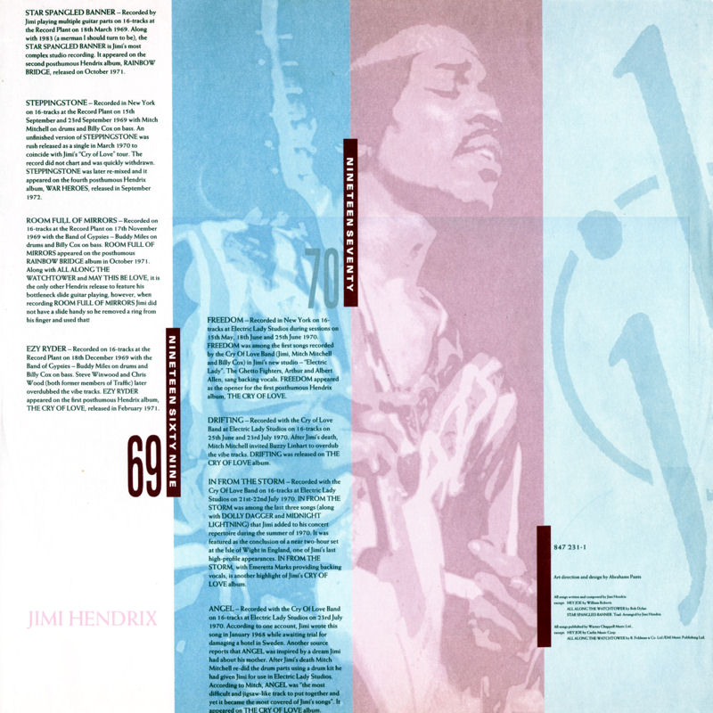 Discographie : Rééditions & Compilations CornerstonesInlay2_zpsd0694eab