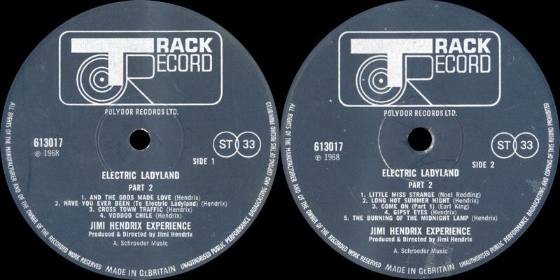 Discographie : Rééditions & Compilations - Page 2 ElectricLadylandPart2Label