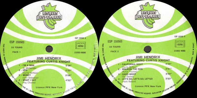 Discographie : Enregistrements pré-Experience & Ed Chalpin  - Page 2 EsperanceESP155503-DawnOfLabel