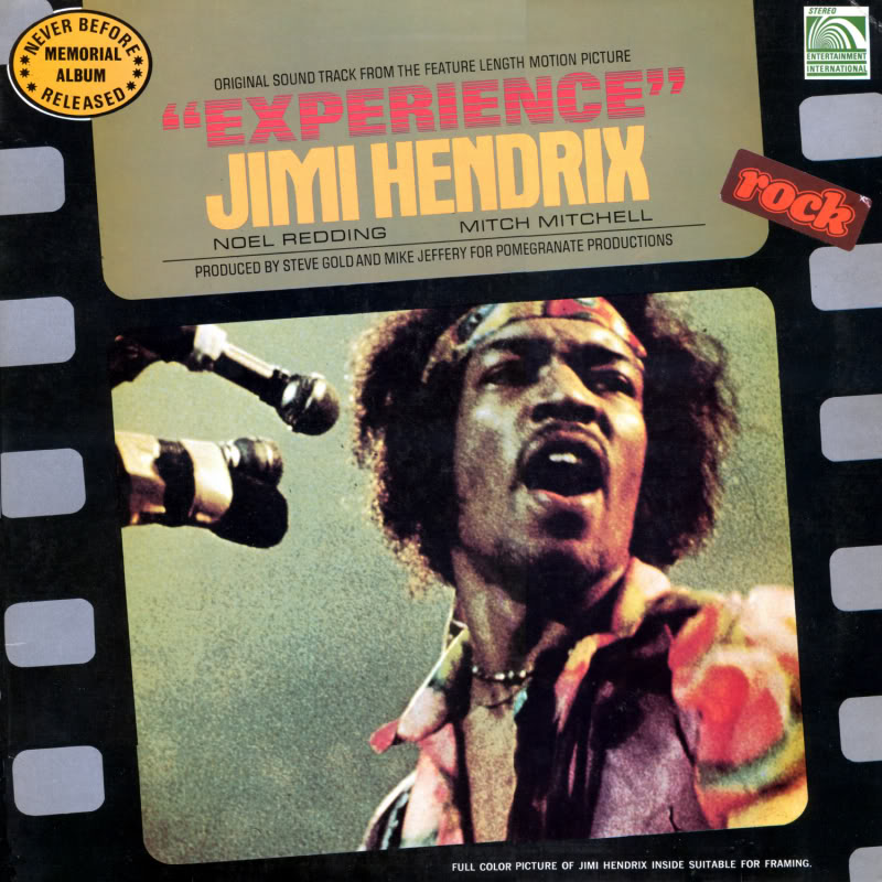 Londres (Royal Albert Hall) : 24 février 1969 Experiencevol1Front